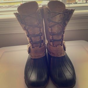Sperry High Top Boots